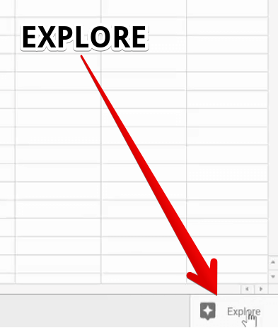 Explore in Google Sheet