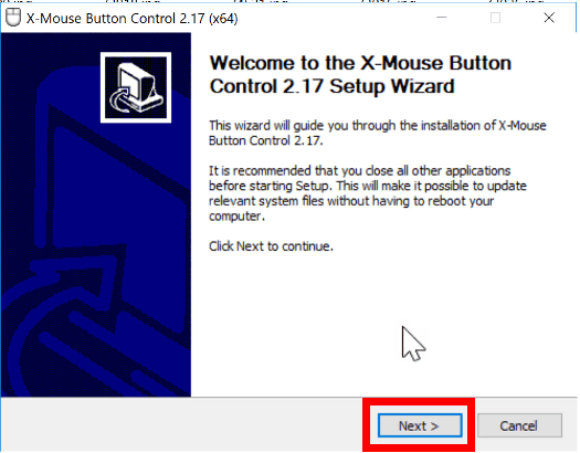 X-Mouse Button Control Setup
