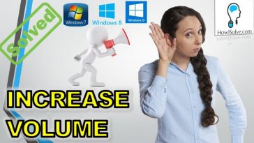 How to boost windows 10 volume