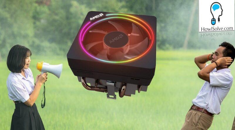 Reduce CPU Fan Noise AMD