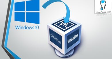 How to Install Windows 10 in Virtual Box